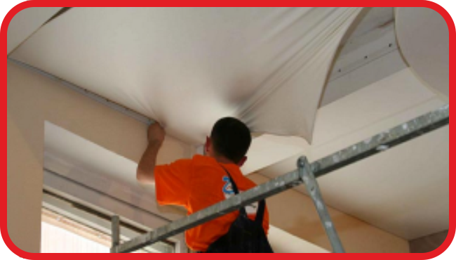 Демонтаж натяжные потолки своими руками